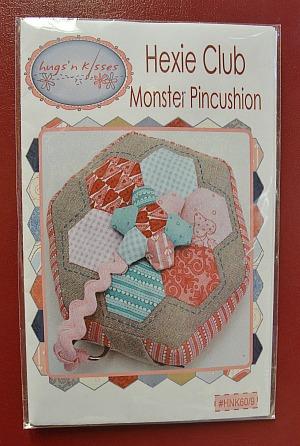 Hugs' n Kisses Hexie Club Monster Pincushion Pattern # ...