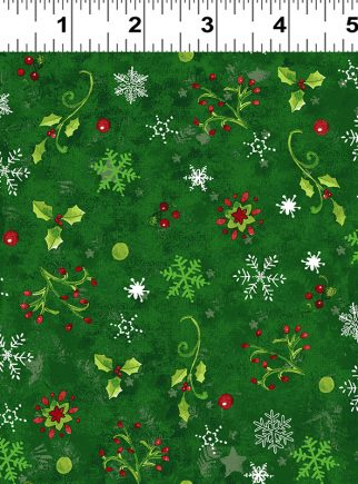 Dark Green Believe in the Season by Sue Zipkin Y2166-113