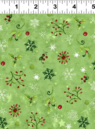 Green Festive Foliage Believe in the Season by Sue Zipkin Y2166-24