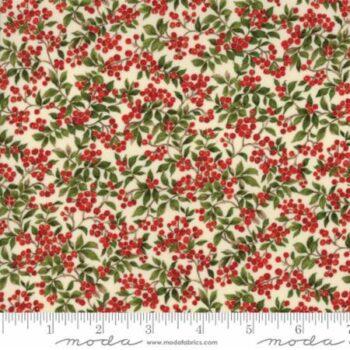 magnolia metallics berries by moda