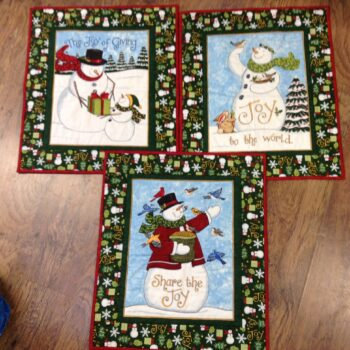 Snowman Joy Wallhanging