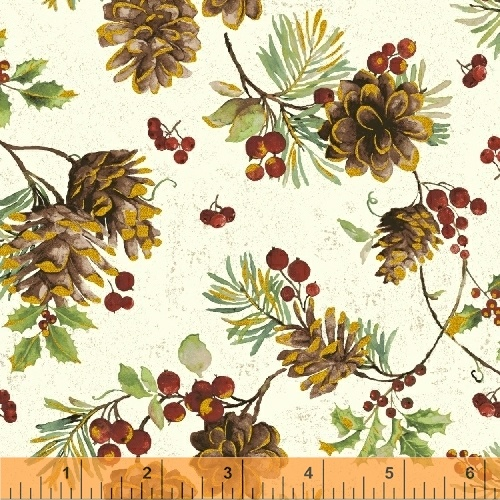 Noel 42398M-1by Whistler Studios for Wyndham Fabrics