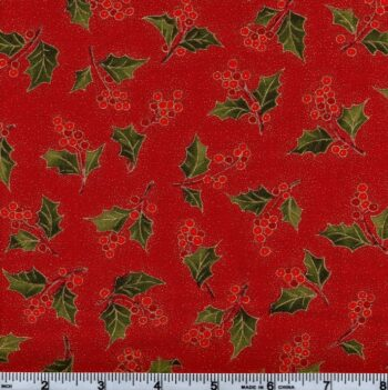 Red Holly metallics