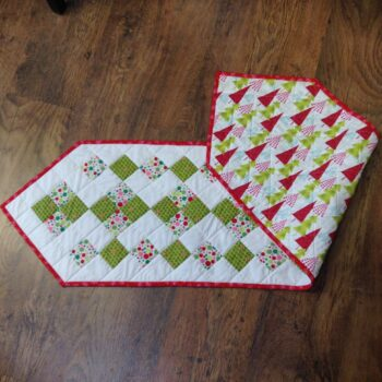 Reversible Xmas Table Runner